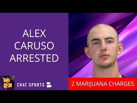 Lakers Guard Alex Caruso Arrested On Marijuana Charges In Texas   Breaking Lakers News