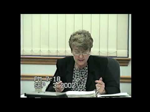 Rouses Point Village Board Meeting 9-3-02