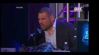 UFC 180: Conferencia de Prensa México