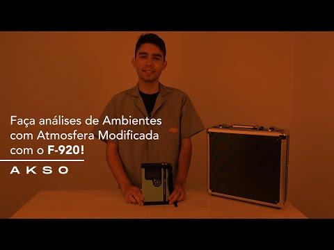 Faça análises de Ambientes com Atmosfera Modificada com o F920!