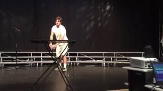 Senior Talent Show Water Bottle Flip AK 2016
