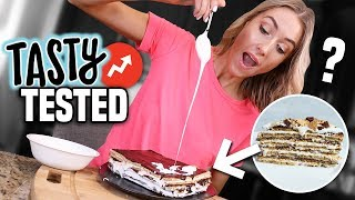 I Tried TASTY BUZZFEED'S 16 LAYER S'MORES... Was It ACTUALLY Good??