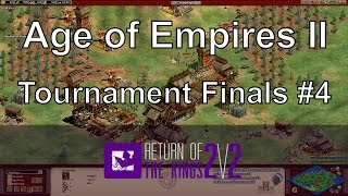 Aoe2: The Most Aggressive Game of Aoe2 (RotK Finals Game 4)