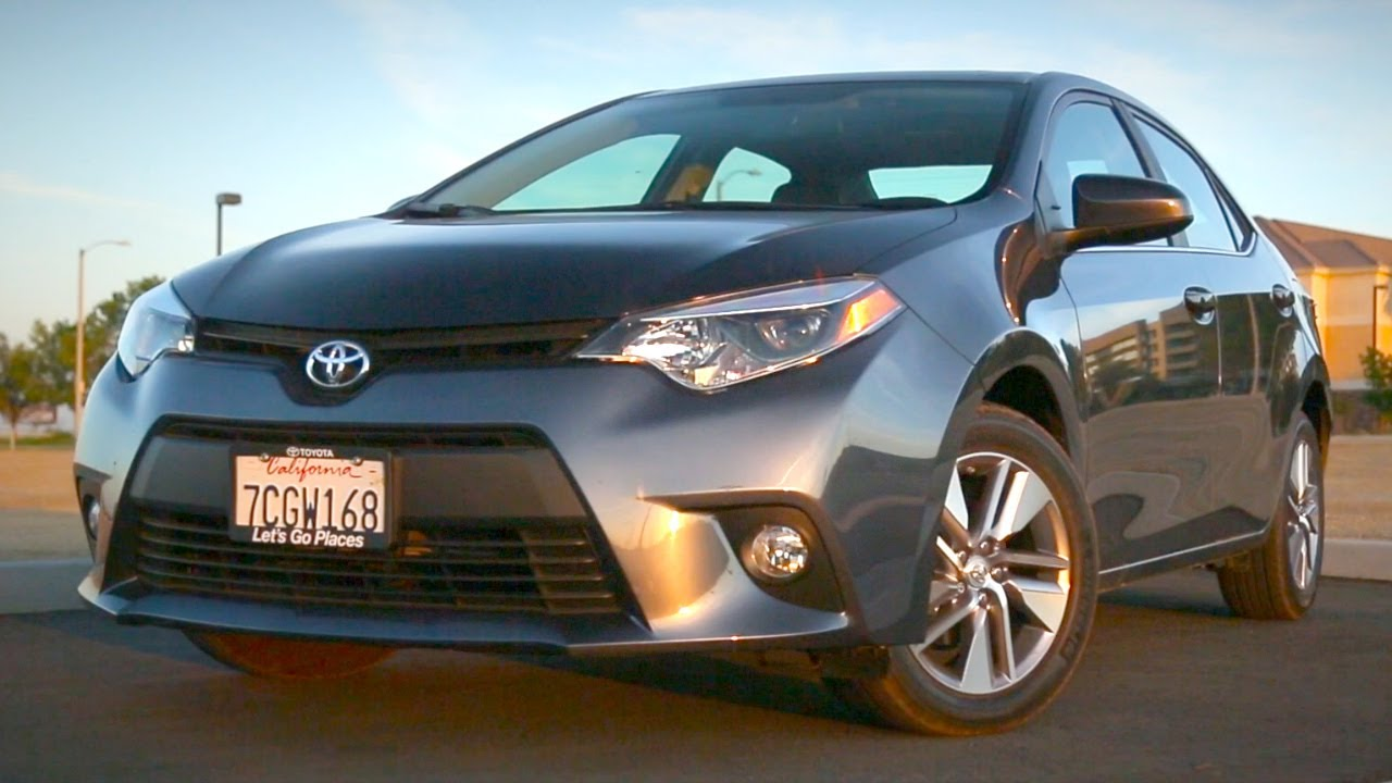 2014 toyota corolla review kelley blue book youtube. Black Bedroom Furniture Sets. Home Design Ideas