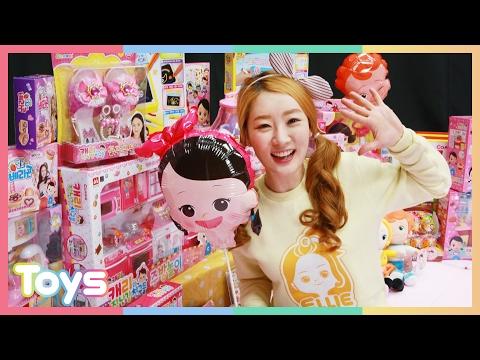엘리의 꼬마 캐리 생일파티 선물 고르기! 캐리와 장난감 친구들 장난감 놀이 CarrieAndToys