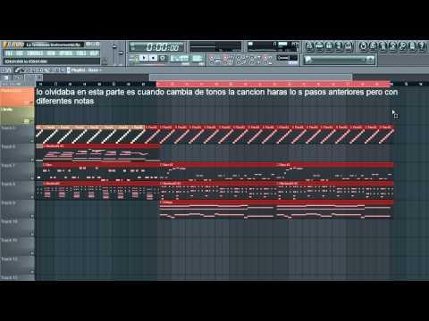Tutorial Fl Studio 11: Como Crear Bachata -
