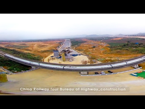 China's Highway construction- VR Video by @KANDAOVR