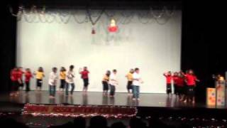 Group Dance on Bollywood Songs by kids from Columbus IN