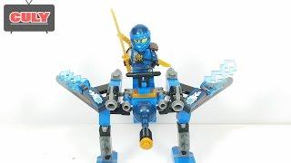 Đồ chơi Lego Ninjago Blue Jay chiến binh xanh nước biển -- brick toy for kids childrens