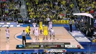 Louisville vs Michigan 2013 NCAA Basketball Championship (FULL GAME) VITALE CALL