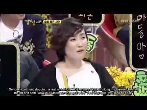 [Eng Sub] SeoHyun Cut: Drunk SeoHyun! Strong Heart Kpop.
