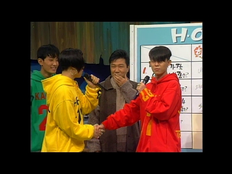 (ENG SUB) H.O.T. & Lee Soo Man - 5 Questions, 1996
