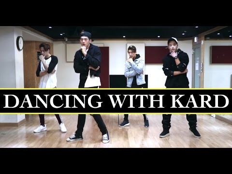KARD TEACHES US OH NANA DANCE [DIA STAGE]