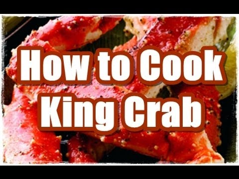 How To Cook Alaskan King Crab 4 Ways - YouTube