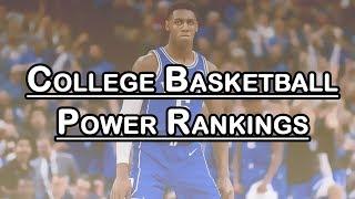 College Basketball Power Rankings: Duke Moves to #1