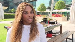 Serena Williams in Gastronomy Grand Slam
