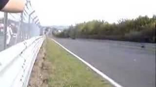 SLR  mclaren at the nurburgring 200 mph+