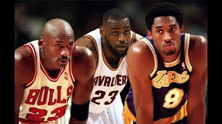 NBA Players who played against Jordan, Kobe, and LeBron pick who's THE BEST
