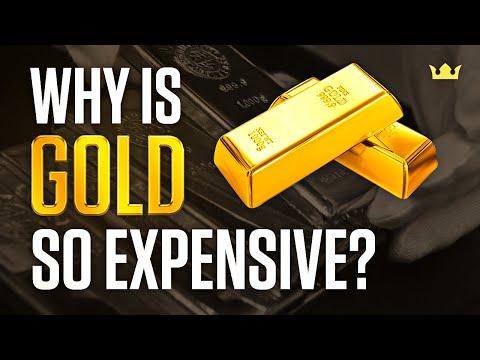 Која е причината за високата цена на златото?