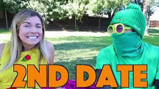 First Date DIY Princess Cake Challenge - Rebecca Maddie Challenges