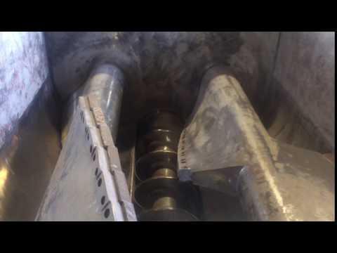 7J-JH01 Twin Shaft Pugmill Mixer - Screw Conveyor Video