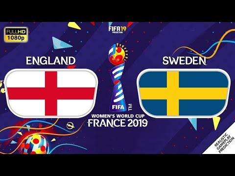 England vs Sweden 1-2 | Third Place | FIFA Women's World Cup France 2019 | 06/07/2019 | FIFA 19