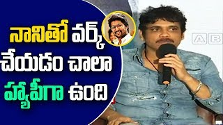 Nag on Nani and his character in Devdas..