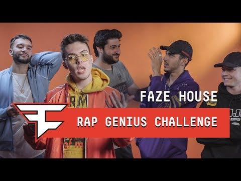 FaZe House Rap Genius Challenge