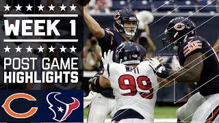 Bears vs. Texans | NFL Week 1 Game Highlights