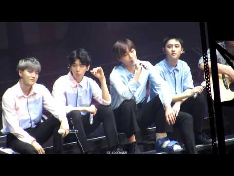 160724 EXO'rDIUM 어쿠스틱 MY LADY + MY TURN TO CRY + 월광 + Monodrama