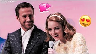 Ryan Gosling Can't Stop Flirting with Emma Stone