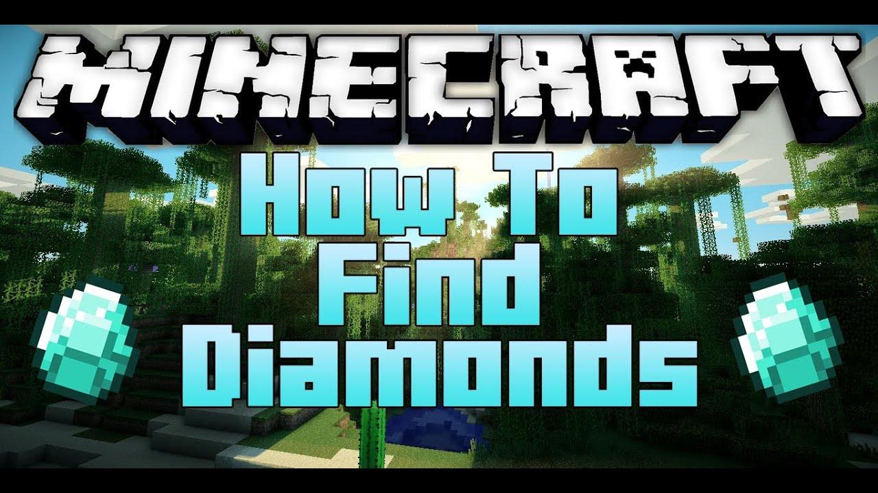 Minecraft: How To Find Diamonds - Fastest Way! [1.8.1 ...