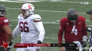 Luke Falk (Washington St QB) vs Stanford - 2017