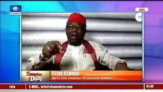 Imo Gov'ship Poll: Steve Asimobi Disagrees As PDP Alleges Okorocha Threatens Returning Officer Pt.2