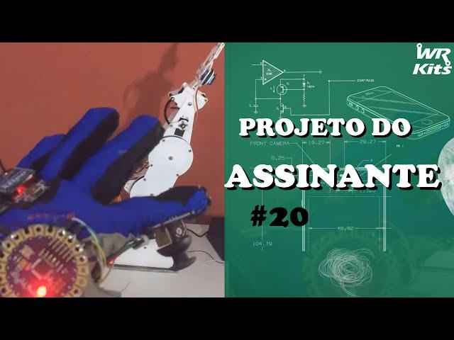 BRAÇO ROBÓTICO CONTROLADO COM XBEE  | Projeto do Assinante #020