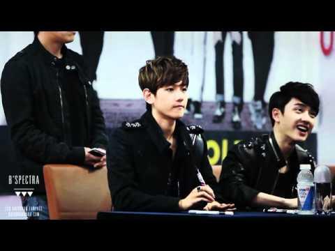 120421 EXO-K COEX fansign Cute Baekhyun [full ver] ♥