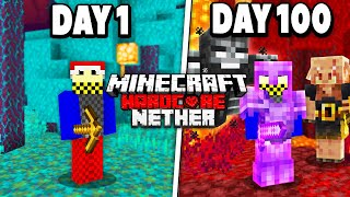 The Nether: 100 Days in Hardcore Minecraft...