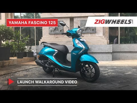 Yamaha Fascino 125 Fi Walkaround | Specs, Mileage, Features, Price & More!