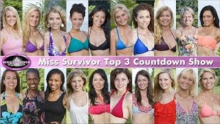 Miss Survivor 2014 Top 3 Finalist Countdown Show