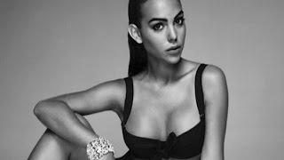 La novia de Cristiano Ronaldo, Georgina Rodríguez, debuta como modelo