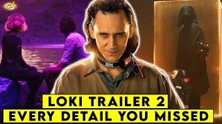 LOKI Trailer Every Detail You MISSED || ComicVerse