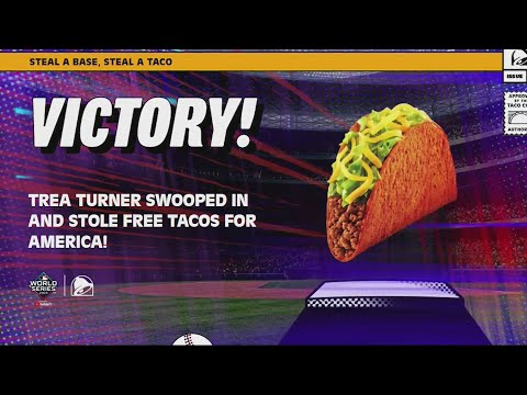 Get a free taco from Taco Bell