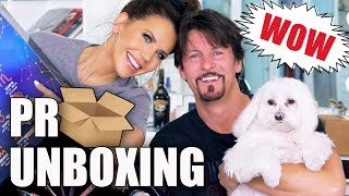 FREE STUFF BEAUTY GURUS GET | Unboxing PR Packages + GIVEAWAY