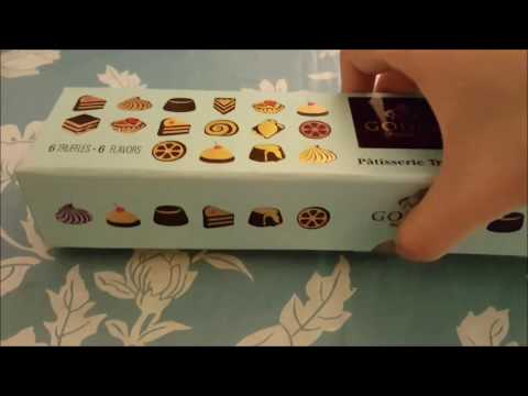 Unboxing Dessert Review: GODIVA truffles