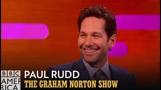 Learn Cantonese with FBI Agent Paul Rudd | The Graham Norton Show | BBC America