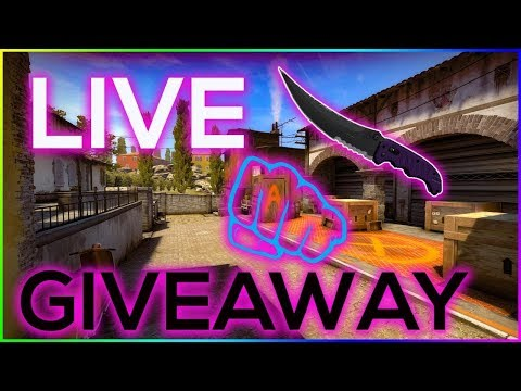 csgo live india gameplay knife giveaway