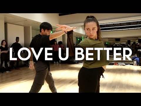 Victoria Monet - Love U Better ft Sean Lew & Kaycee Rice | Brian Friedman Choreography | EXPG LA