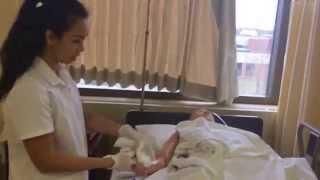 Complete Bed Bath Skill Validation for Nursing