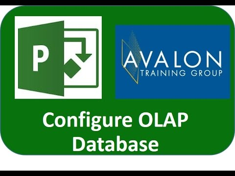 Configuring the Project Server OLAP database