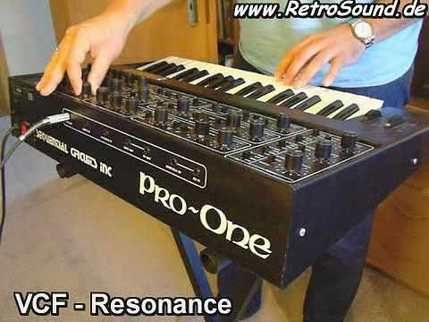 Sequential Circuits Pro-One Analog Synthesizer (1981)